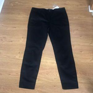 Forever 21 Black Straight Leg Dress Pants